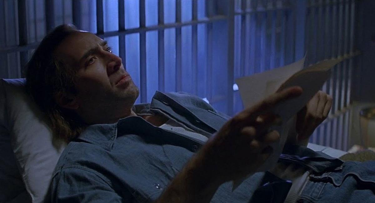 """Nicolas Cage dijo que no verá su nueva cinta """"The Unbearable Weight of Massive Talent"""". Foto: Twitter @rosstmiller"""