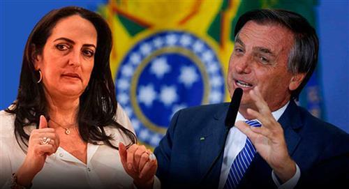 """Para María Fernanda Cabal sería una """"delicia"""" ser Donald Trump o Jair Bolsonaro"""