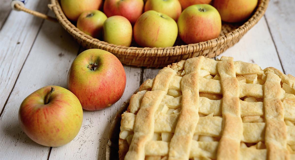El Pastel de Manzana suele ser el postre más tradicional de cada familia americana. Foto: Pixabay