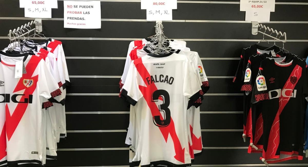 Precio de la camiseta de Falcao. Foto: Twitter @carrusel