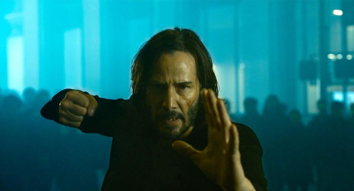 "Así lucirá Keanu Reeves en ""The Matrix: Revolutions"". Foto: Twitter @EW"