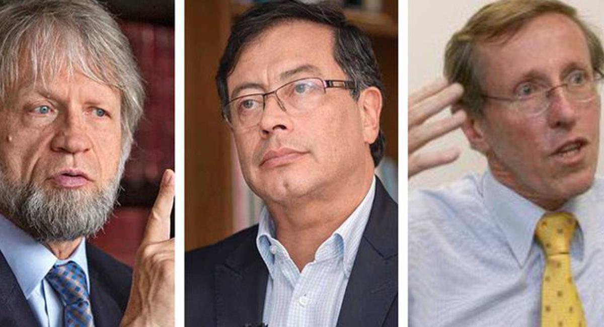 Antanas Mockus y Antonio Navarro Wolff del Partido Verde descartaron  unión con Gustavo Petro. Foto: Twitter @AntonioSanguino