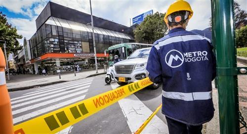 Comienzan las obras del Metro en la calle 72 con Avenida Caracas