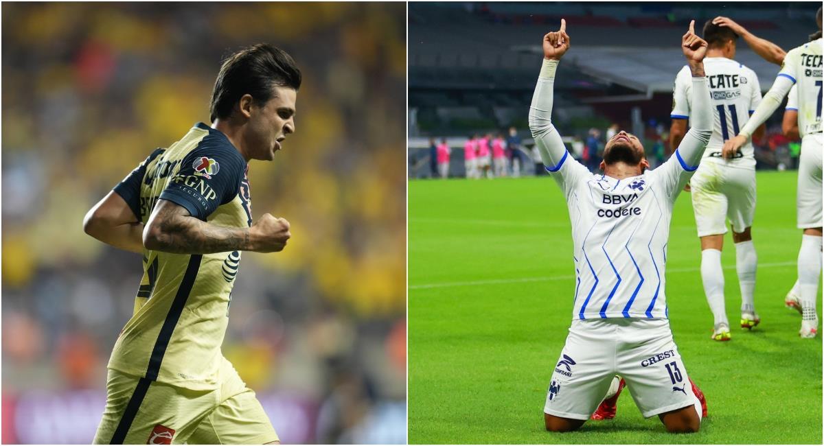 Los cuatro colombianos que buscarán levantar la Liga de Campeones de la CONCACAF. Foto: Twitter @TheChampions