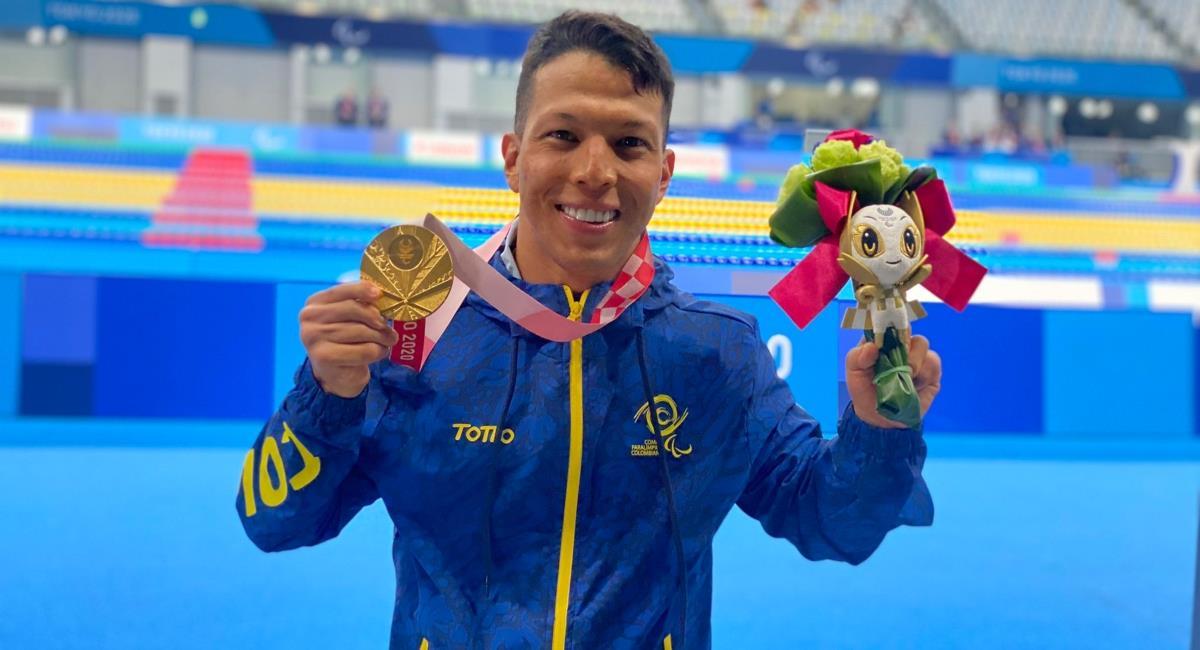Deportistas piden que les cumplan. Foto: Twitter Comité Paralímpico colombiano.