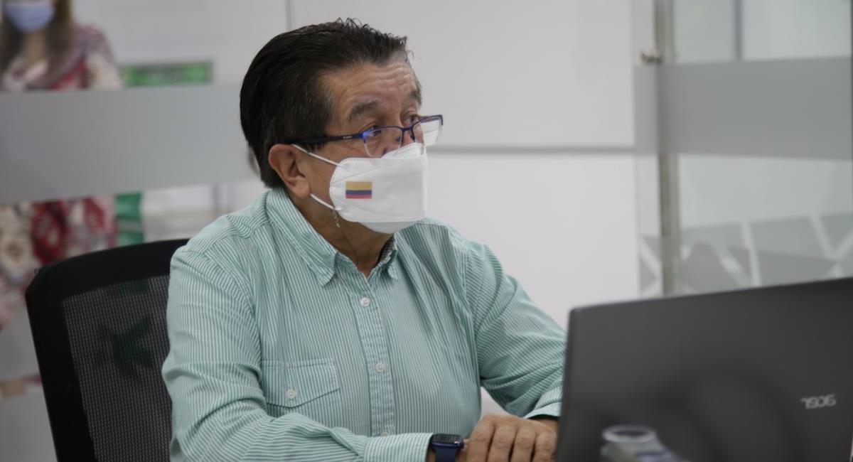 Fernando Ruiz, ministro de Salud y Protección Social. Foto: Twitter @MinSaludCol