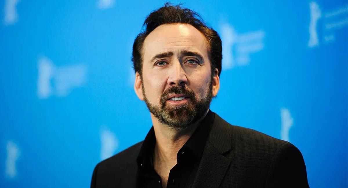 Nicolas Cage aseguró que no tiene intenciones de dejar de actuar. Foto: Twitter @MsPelculas2