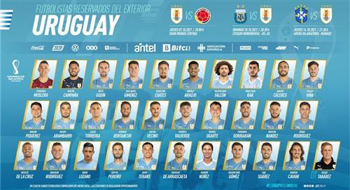 El equipo uruguayo reservó 30 jugadores y ya piensa en Colombia, Argentina y Brasil