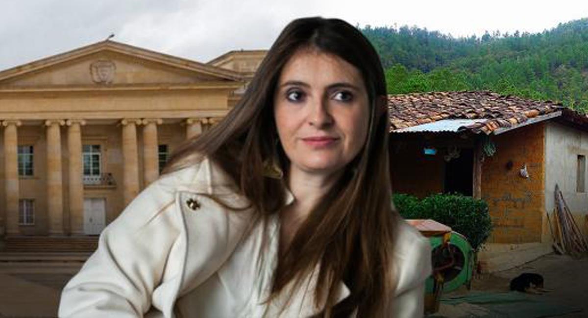 La senadora Paloma Valencia es una de las más fuertes opositoras sobre la presencia de exFarc en el Congreso. Foto: Twitter @PalomaSenadora