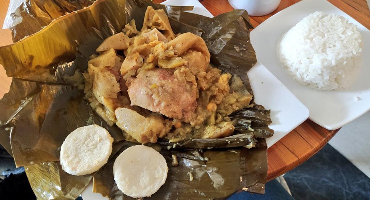 El tamal tolimense se ha acogido en casi todo el país, casi todos los colombianos comen tamal. Foto: Twitter @JaimeElRojo