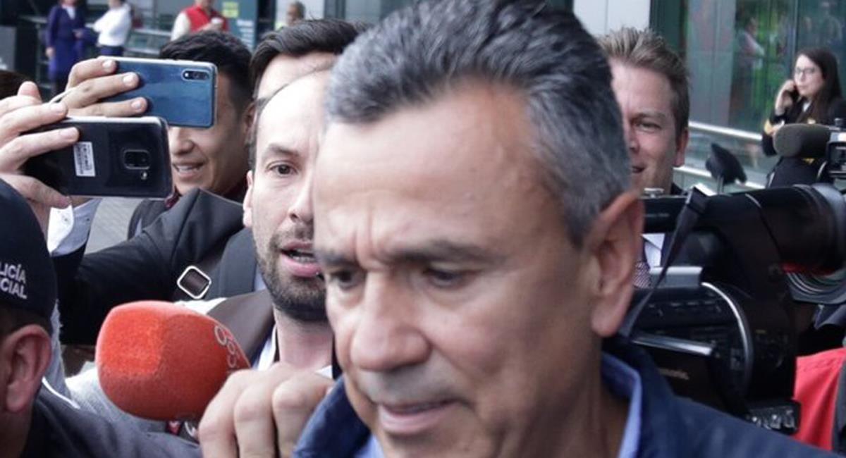 Mauricio Santoyo fue jefe de seguridad de Álvaro Uribe Vélez y el expresidente negó influir en su designación. Foto: Twitter @IvanCepedaCast