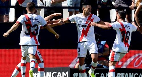 Falcao García debutó y marcó gol en victoria del Rayo