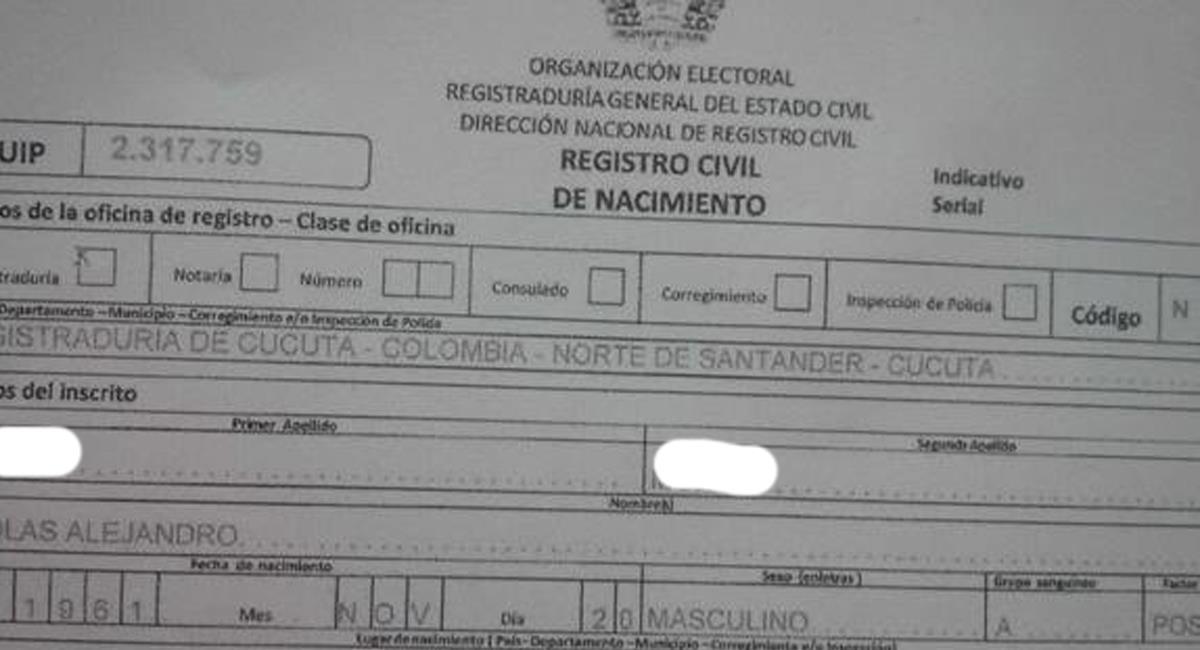 Los registradores podrán abstenerse de registrar niños con nombres denigrantes. Foto: Facebook El Heraldo Barranquilla