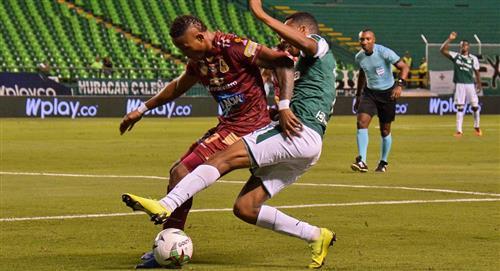 Sigue en VIVO y GRATIS el partido entre Deportes Tolima vs Deportivo Cali