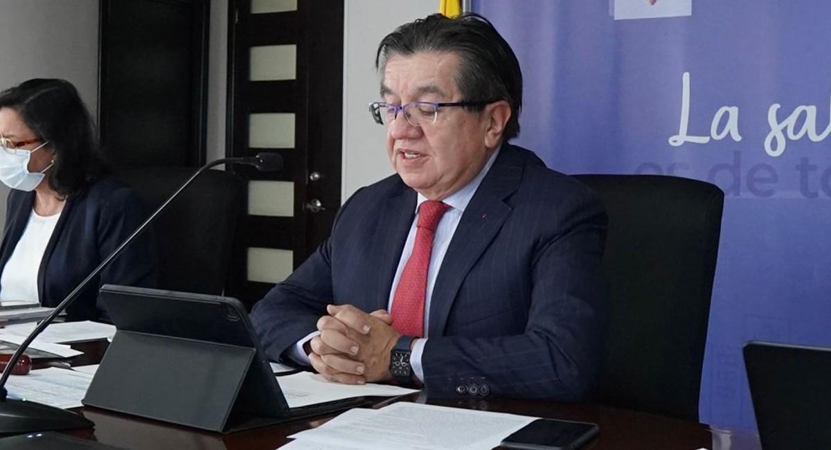 """""""La Región debe consolidar, desde ahora, su seguridad sanitaria"""", dijo Ruíz. Foto: Ministerio de Salud."""