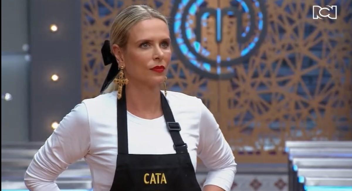 Carla culpó a los del balcón por la eliminación de la modelo. Foto: Canal RCN