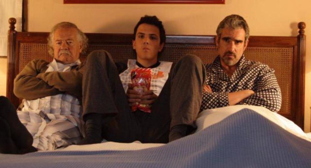 El actor de 78 y su familia ya hicieron la solicitud para la eutanasia. Foto: Youtube Mi abuelo, mi papá y yo.