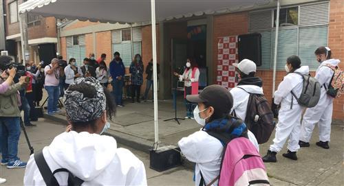 Alcaldía entrego el nuevo colegio el Nogal en Ciudad Bolívar