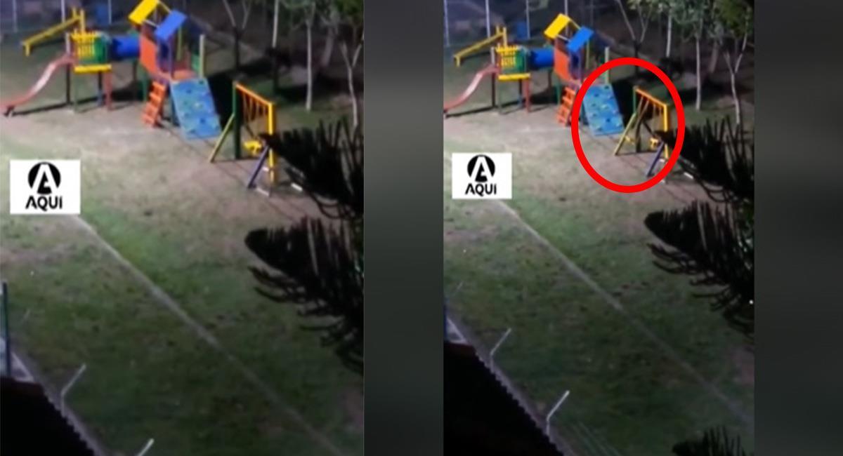 """Uno de los residentes del conjunto, confirmaron que los niños aseguran """"hay un duende que juega"""". Foto: Facebook"""