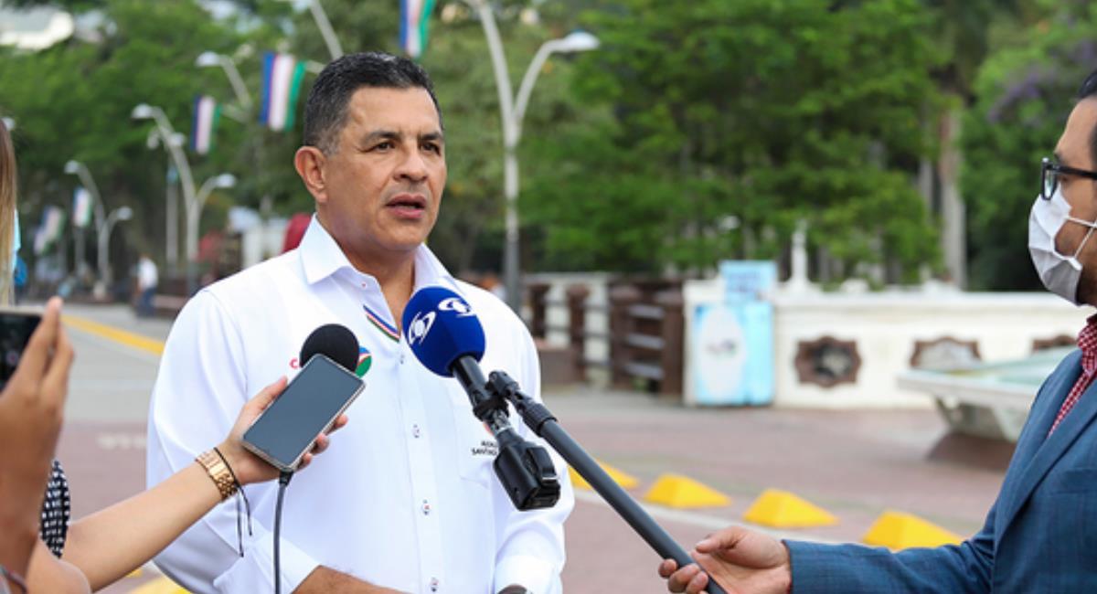 Jorge Iván Ospina espera que para finales de año el aforo de eventos sea del 75%. Foto: Alcaldía de Cali