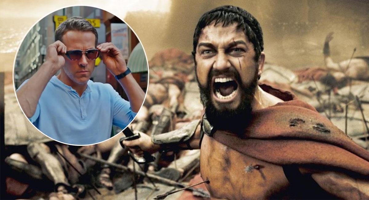Gerard Butler sorprendió con sus declaraciones contra Ryan Reynolds. Foto: Twitter @FreeGuyMovie y @GerardButler