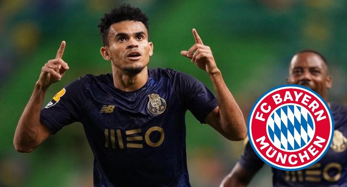 Bayern Múnich quiere a Luis Díaz. Foto: Twitter Prensa redes Luis Díaz.