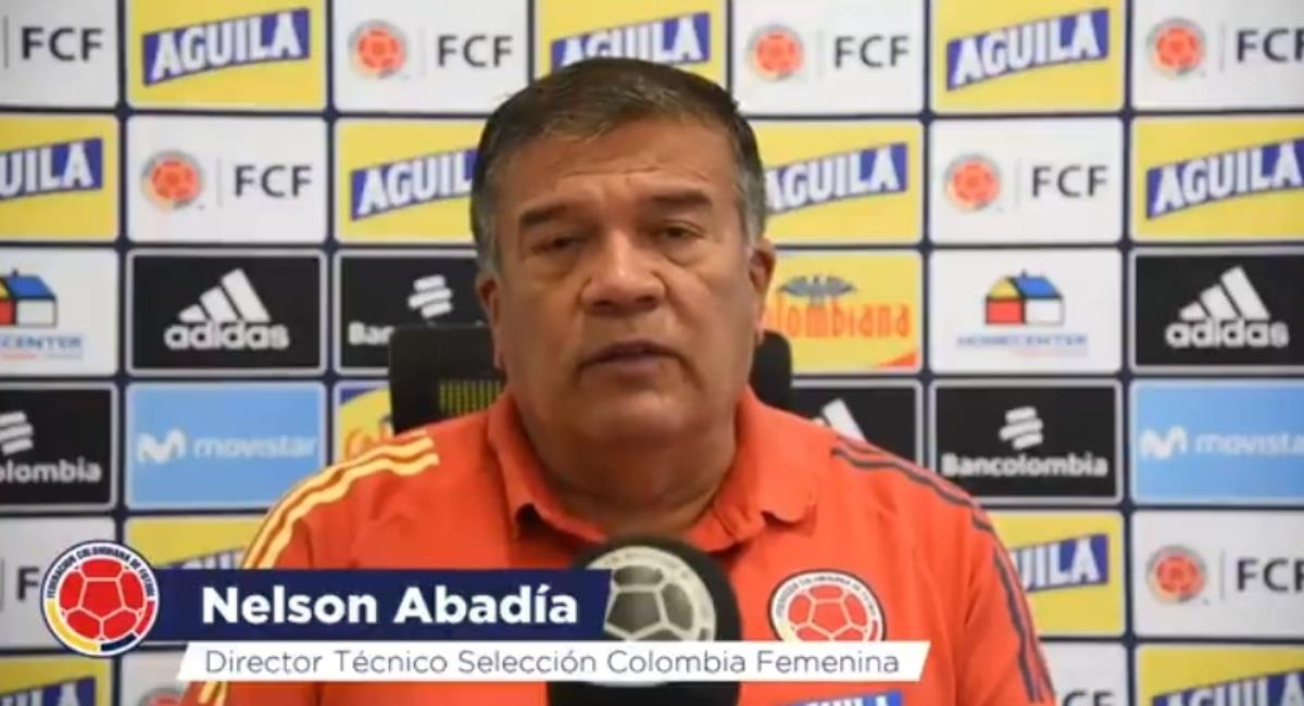 Nelson Abadía habló de la Liga Femenina. Foto: Twitter Prensa redes Selección Colombia.