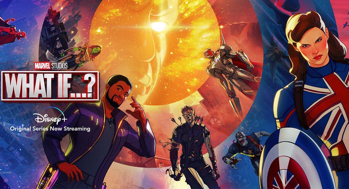 """""""What If?"""" sigue siendo una de las series revelación de Marvel en 2021. Foto: Twitter @whatifofficial"""