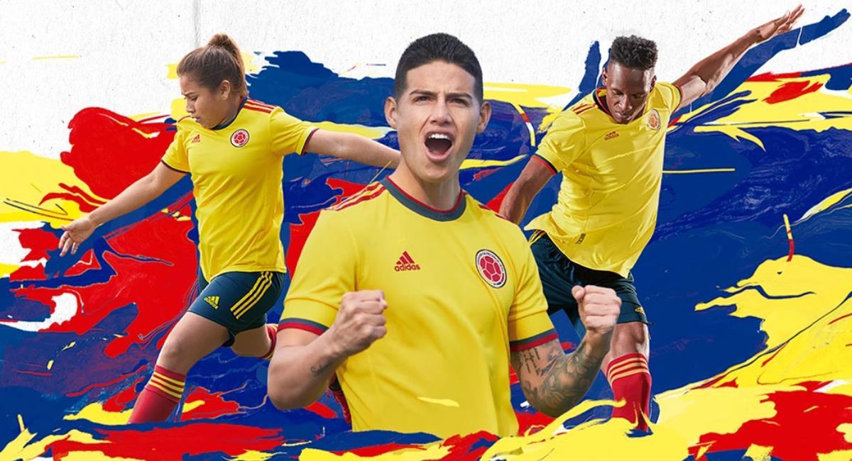 La Federación Colombia de Fútbol y Adidas amplían su vínculo hasta el 2030. Foto: Adidas