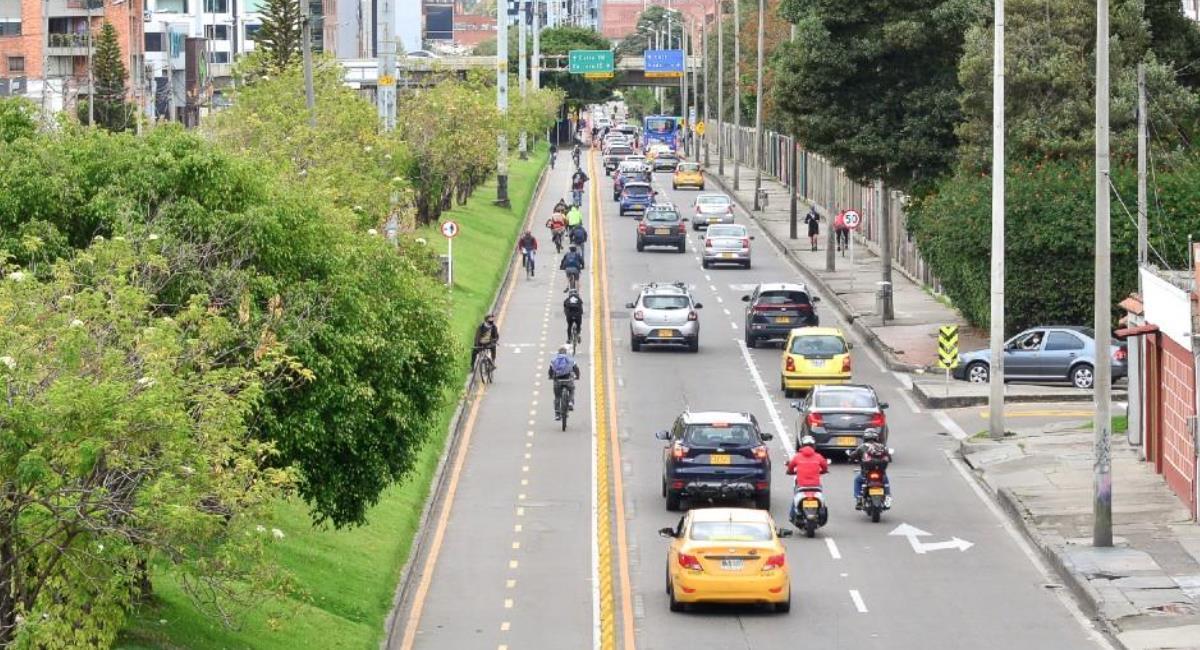 Pico y placa solidario en Bogotá. Foto: Alcaldía de Bogotá
