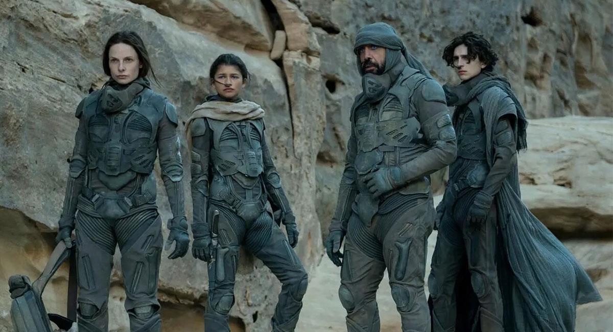 """""""Dune"""" es uno de los grandes estrenos que llegarán a  fines del 2021. Foto: Twitter @dunemovie"""