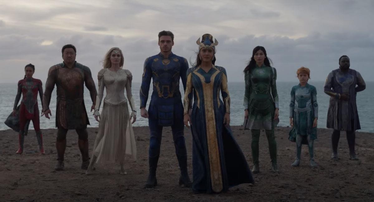 """""""Eternals"""" se estrenará en noviembre del 2021. Foto: Twitter Captura Marvel Latinoamérica Oficial"""