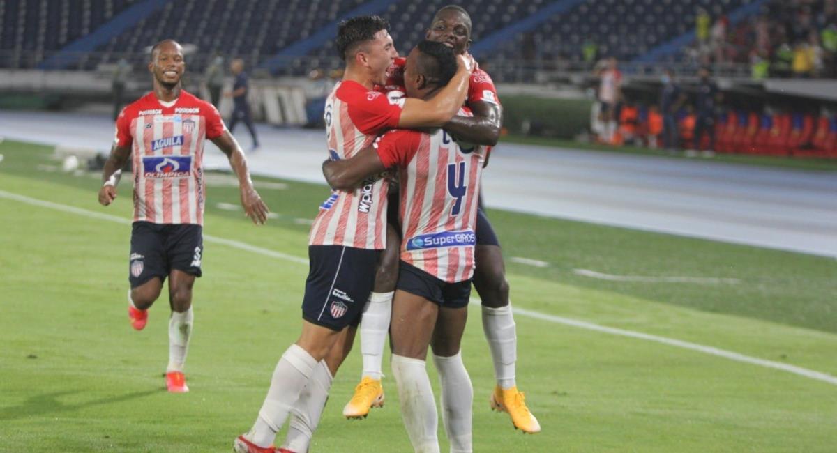Junior de Barranquilla iniciará un proceso disciplinario a Wiler Ditta y a Fabián Ángel. Foto: Twitter @JuniorClubSA