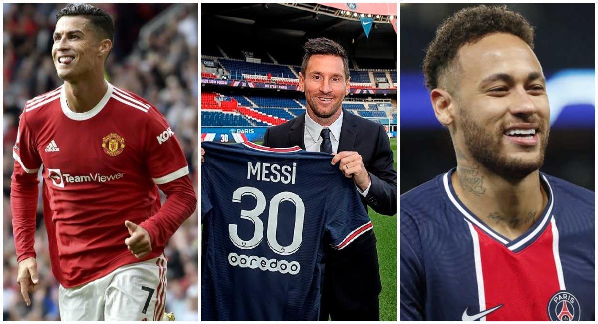 La lista de los 10 futbolistas que más dinero ganan en la actualidad. Foto: AP / PSG / AP