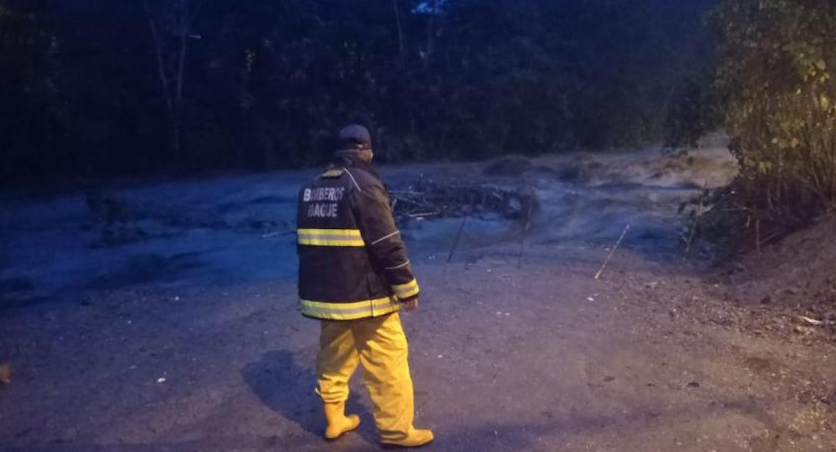 Fuertes lluvias causan estragos en Ibagué. Foto: Alcaldía de Ibagué
