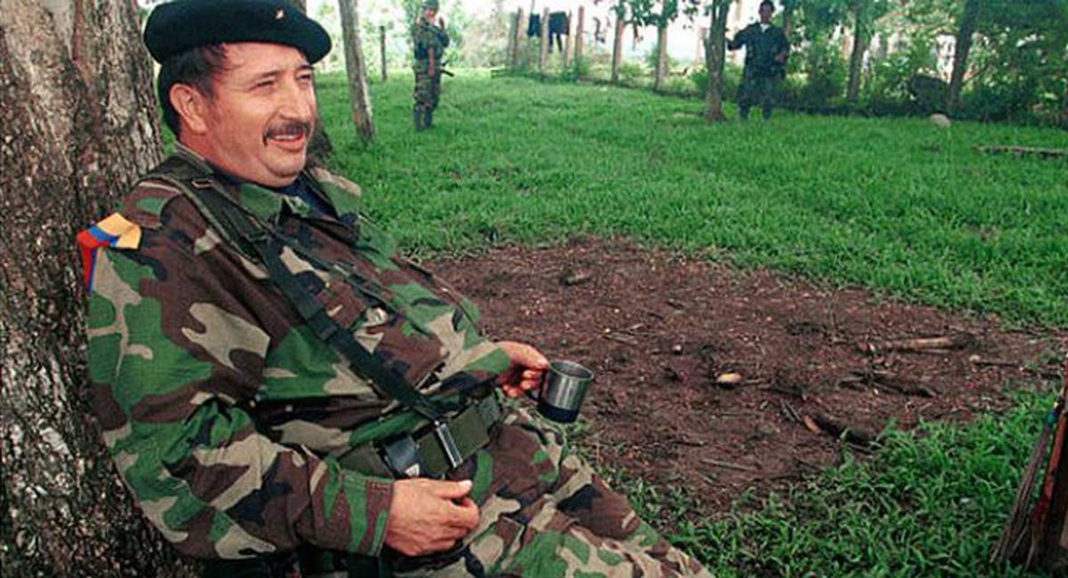 "Víctor Julio Suárez Rojas, conocido como Jorge Briceño o ""Mono Jojoy"", murió en bombardeo militar en 2010. Foto: Twitter @irichani"