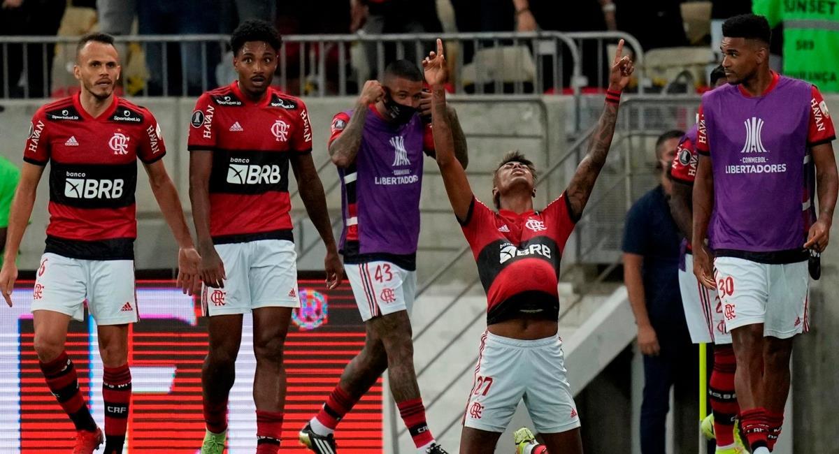 Flamengo pegó primero en la semifinal. Foto: EFE