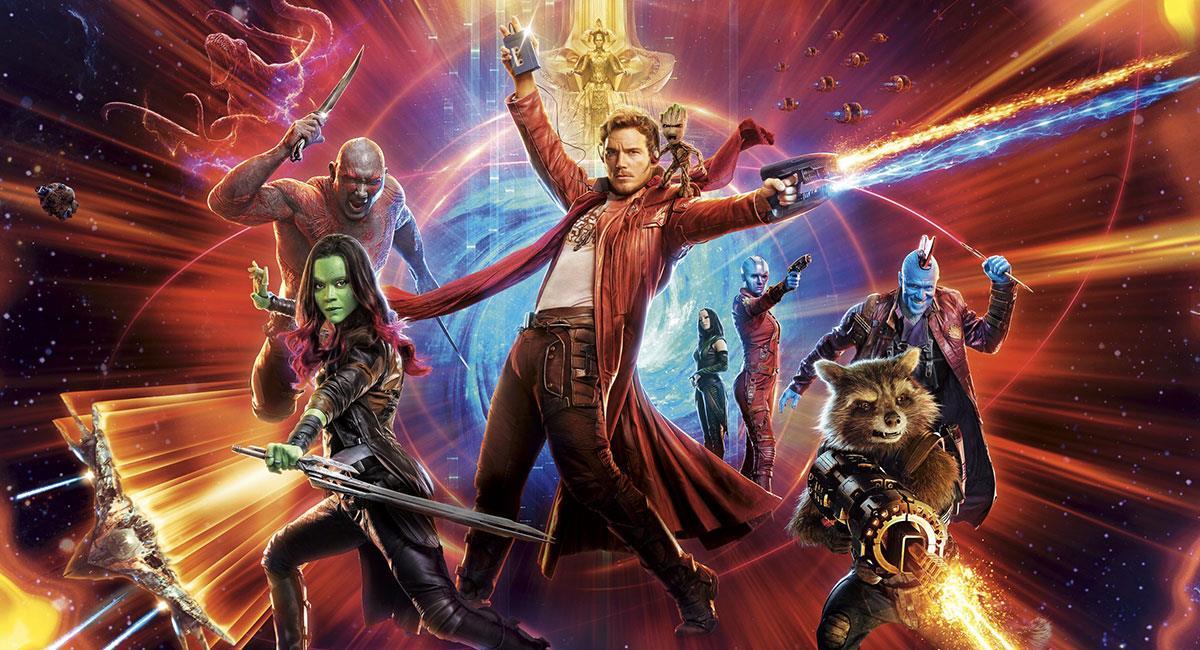"""""""Guardianes de la Galaxia"""" es una de las franquicias más queridas del UCM. Foto: Twitter @Guardians"""
