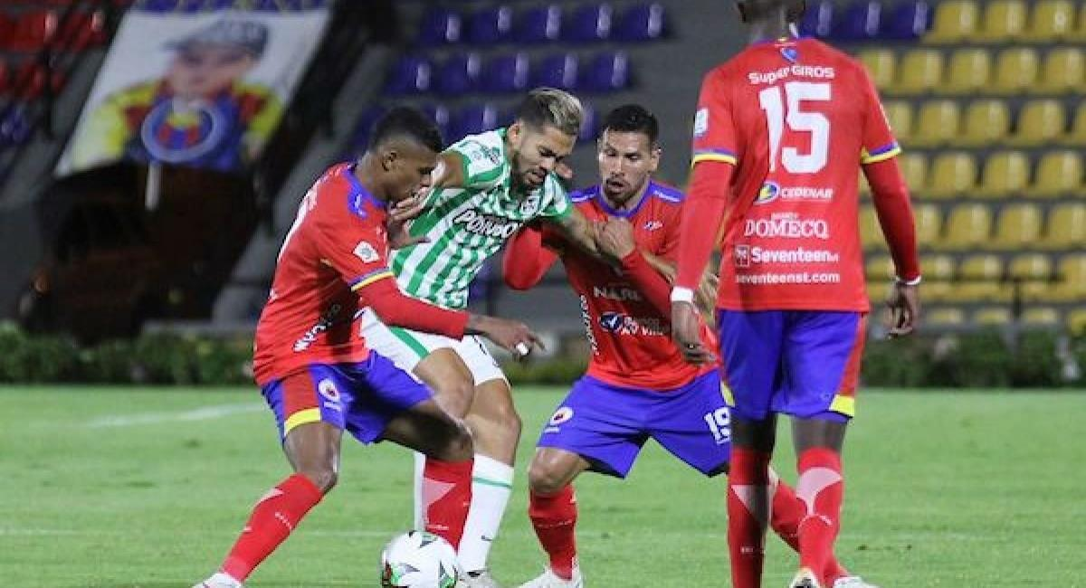 Sigue en VIVO, GRATIS y con la mejor narración, el juego entre Atlético Nacional y Deportivo Pasto. Foto: Dimayor