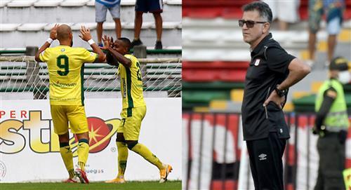 Atlético Bucaramanga vs América de Cali liga betplay 2021 gana Bucaramanga ante América de Cali