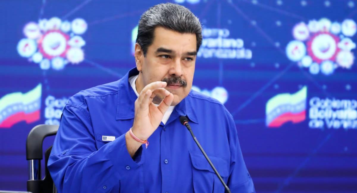 Colombia denuncia incursión de aeronave venezolana. Foto: Twitter @NicolasMaduro