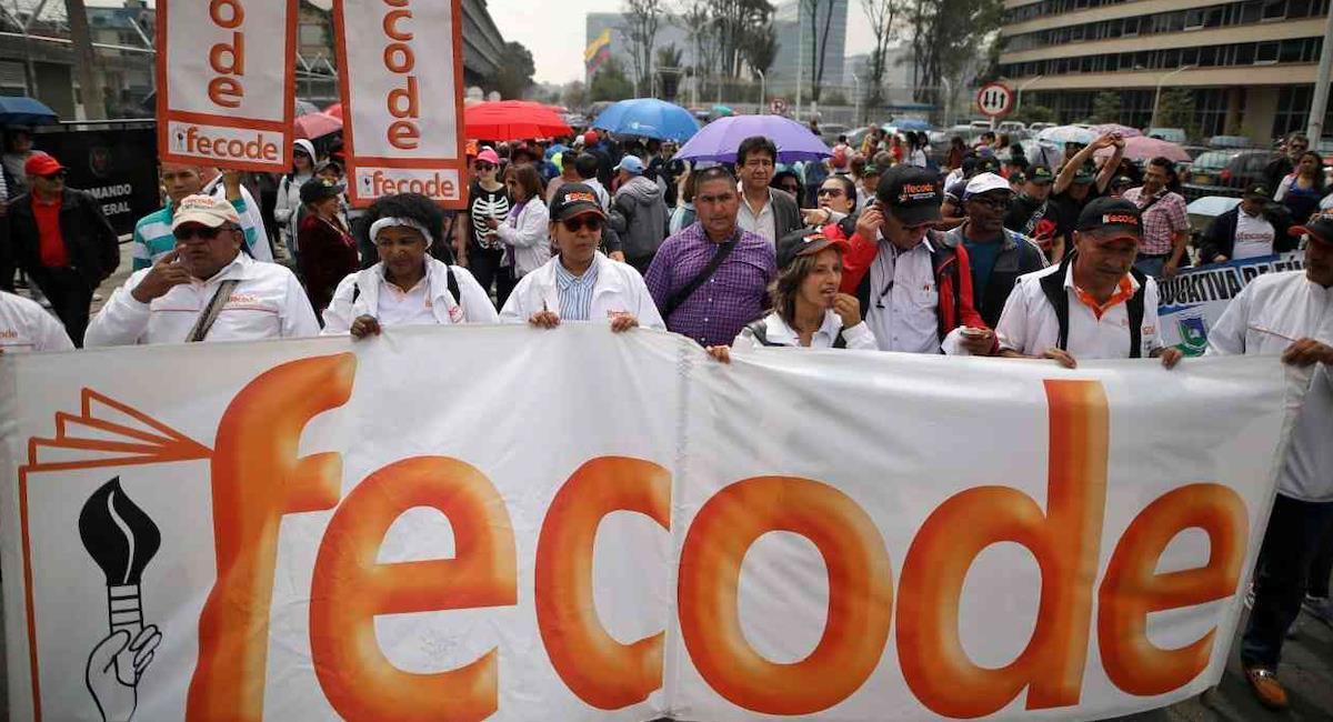 Fecode se une a movilizaciones del 28 de septiembre. Foto: Twitter @NotiTunaja1