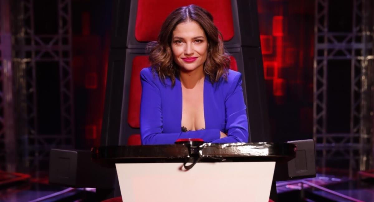 La cantante ha logrado ganarse el corazón de los colombianos. Foto: Caracol Televisión.