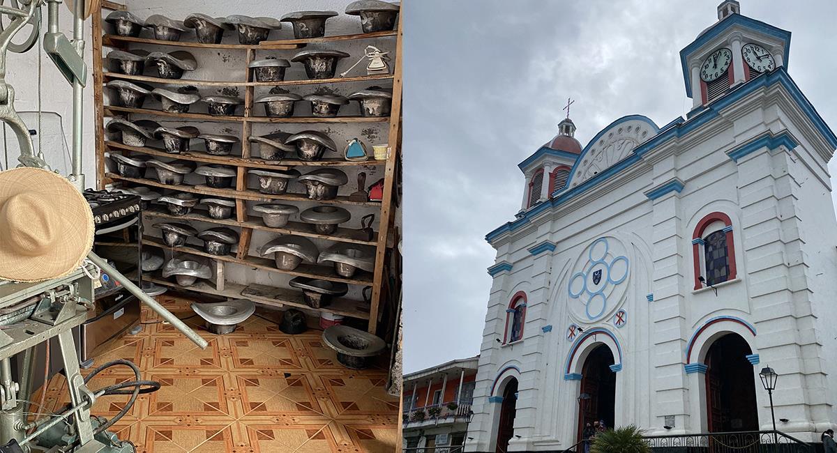 No puedes dejar de pasear por los 'pueblitos' Patrimonio de Colombia. Foto: Twitter @PaolaHolguin