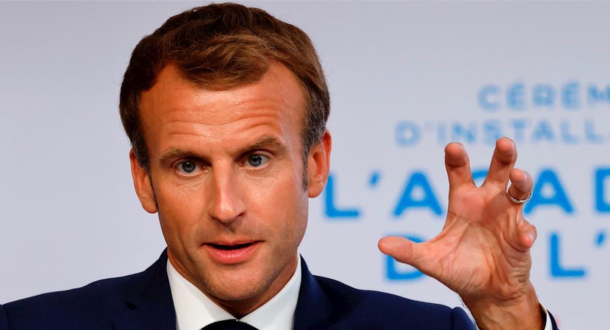 Emmanuel Macron, presidente de Francia. Foto: EFE