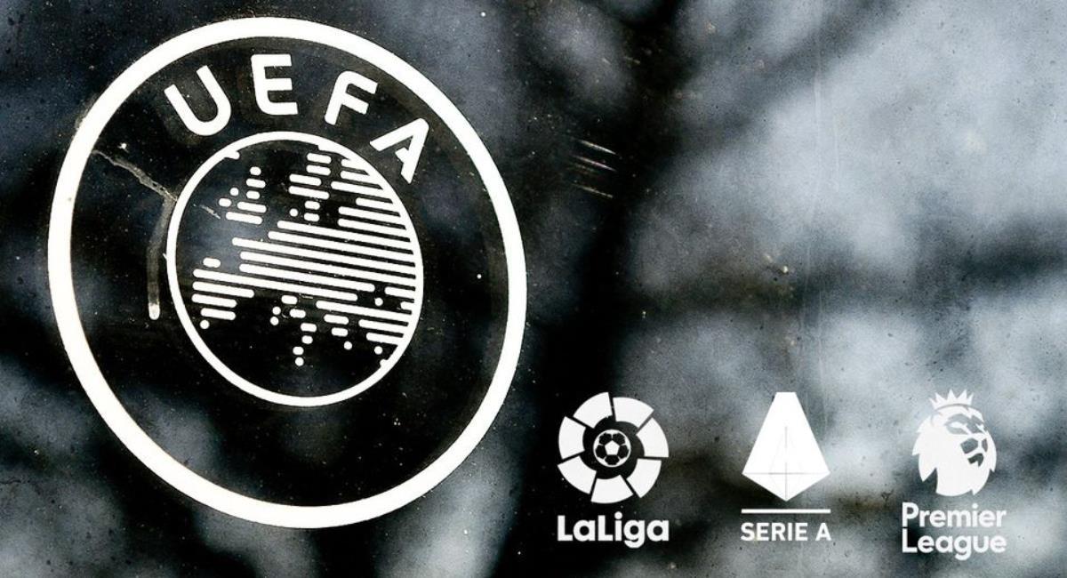 UEFA detiene investigación a clubes por la Superliga. Foto: AFP