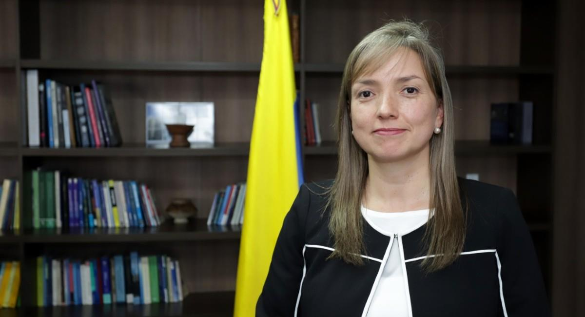 Carmen Ligia Valderrama también se desempeñó como viceministra de Transporte. Foto: Twitter @@jhpelaez.