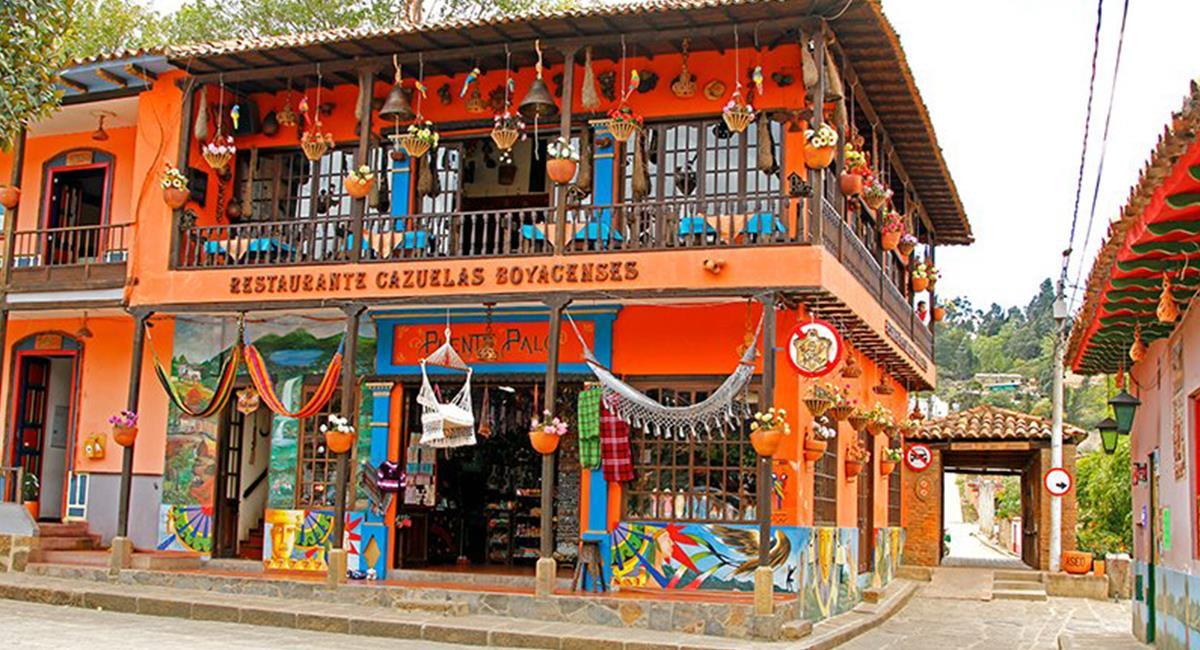 Ráquira es la Ciudad Cerámica de Colombia, y siempre vale la pena recorrerla. Foto: Twitter  @oscarEch182