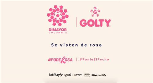 Golty y el FPC se unen en campaña contra el cáncer de mama