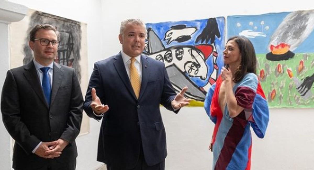 Políticos como César Gaviria,  Andrés Pastrana y Martha Lucía Ramírez son mencionados en los 'Papeles de Pandora'. Foto: Instagram @ivanduquemarquez.